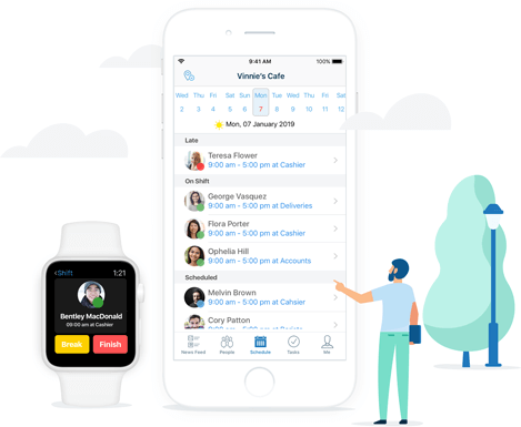 Manage your rota from any location