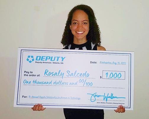 Rosaly Salcedo - Deputy Scholarship-smaller