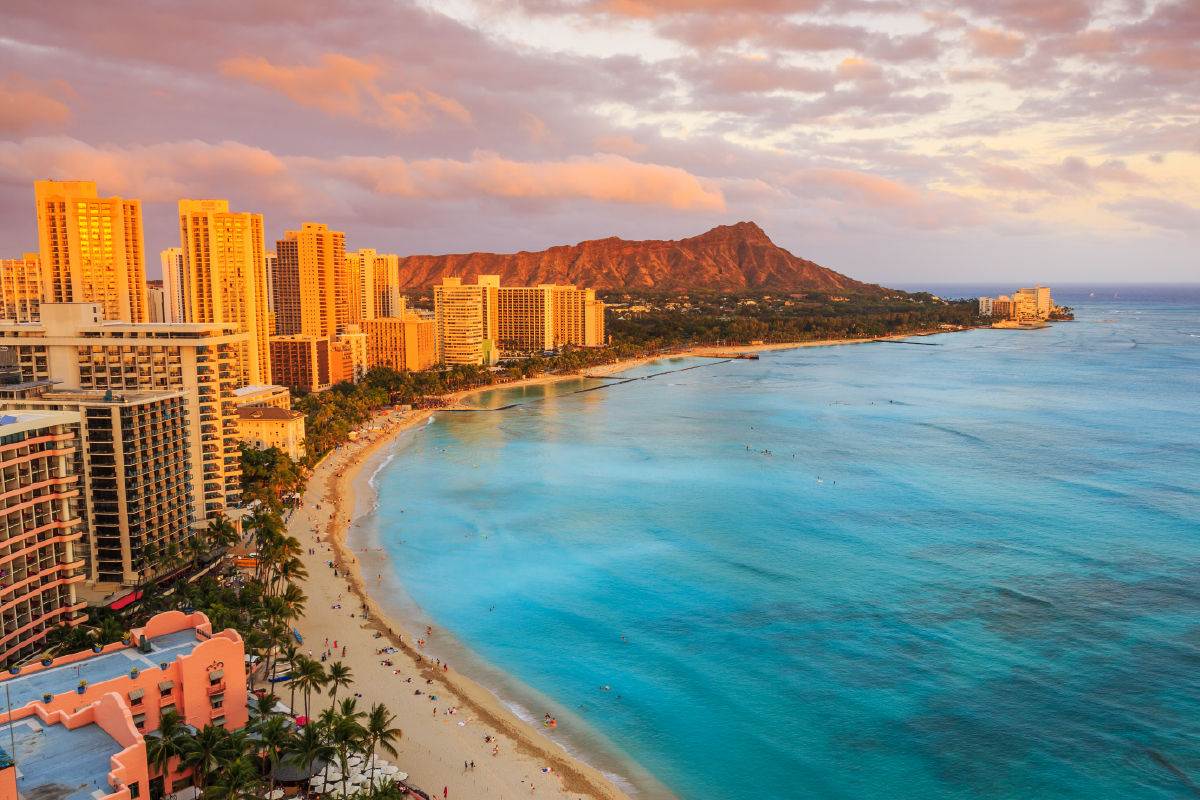 Hawaii-Top 10 U.S. states with the highest minimum wage-02