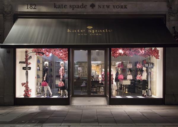 Kate Spade window