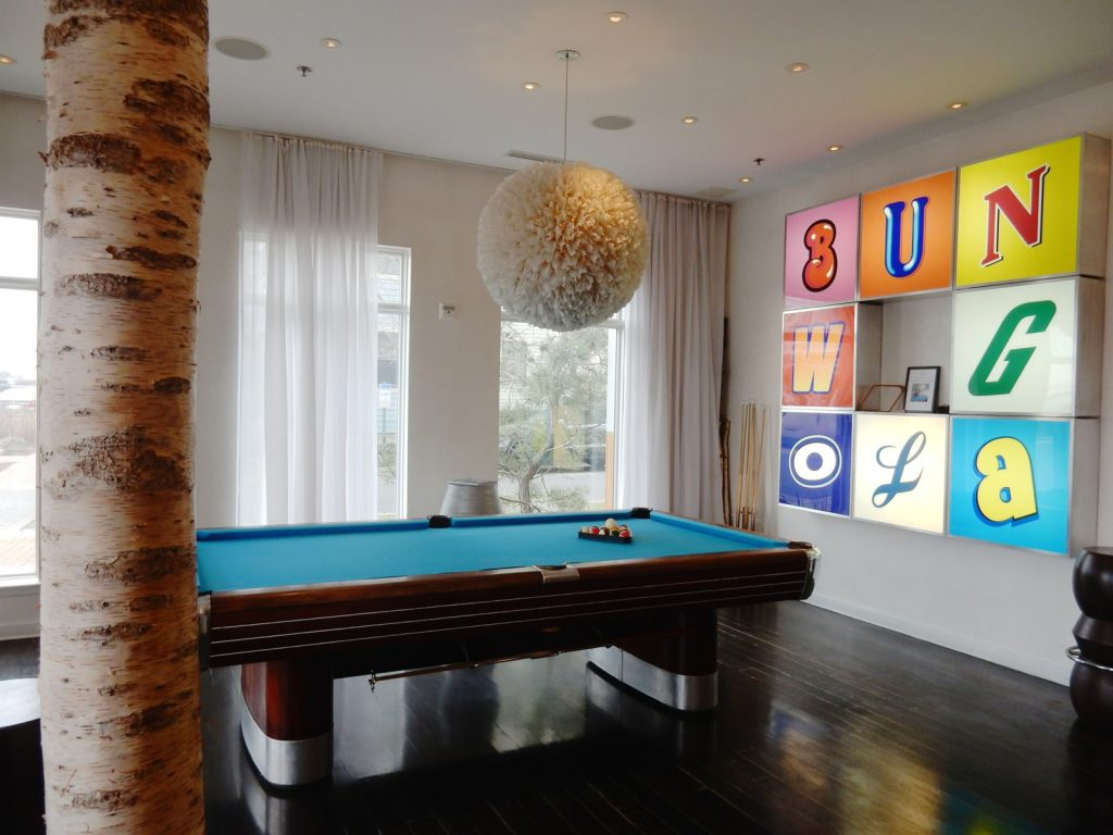 Lobby-with-Pool-Table-Bungalow-Hotel-Long-Branch-NJ