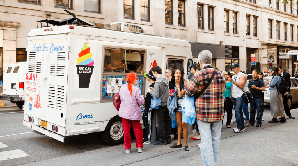 Determine where your food truck will be located