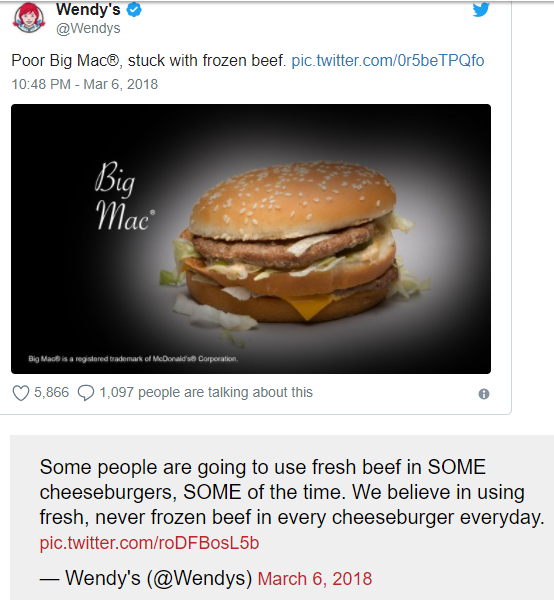 wendys-big mac tweet