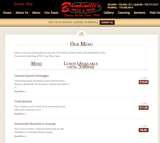The ABC's of Restaurant Website Design-5