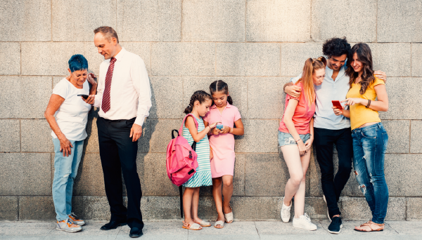 article on generation gap between parents and children